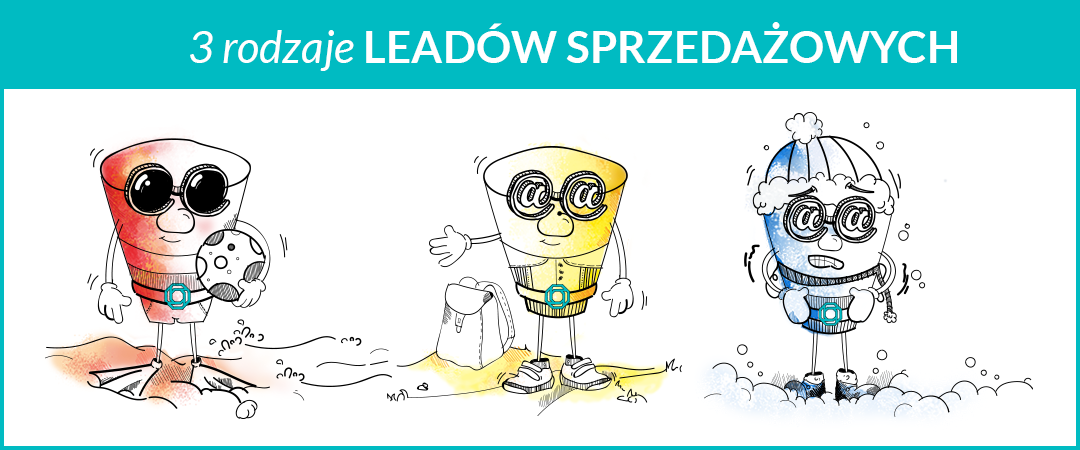 Co to jest lead sprzedażowy? 3 rodzaje leadów